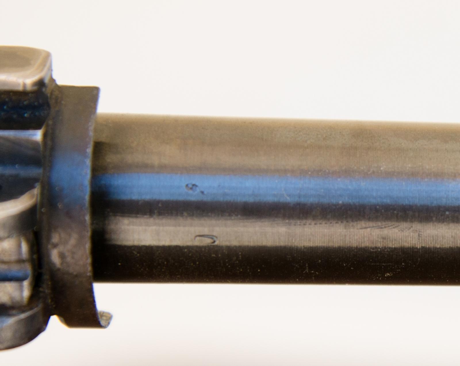 barrel shank marked 5