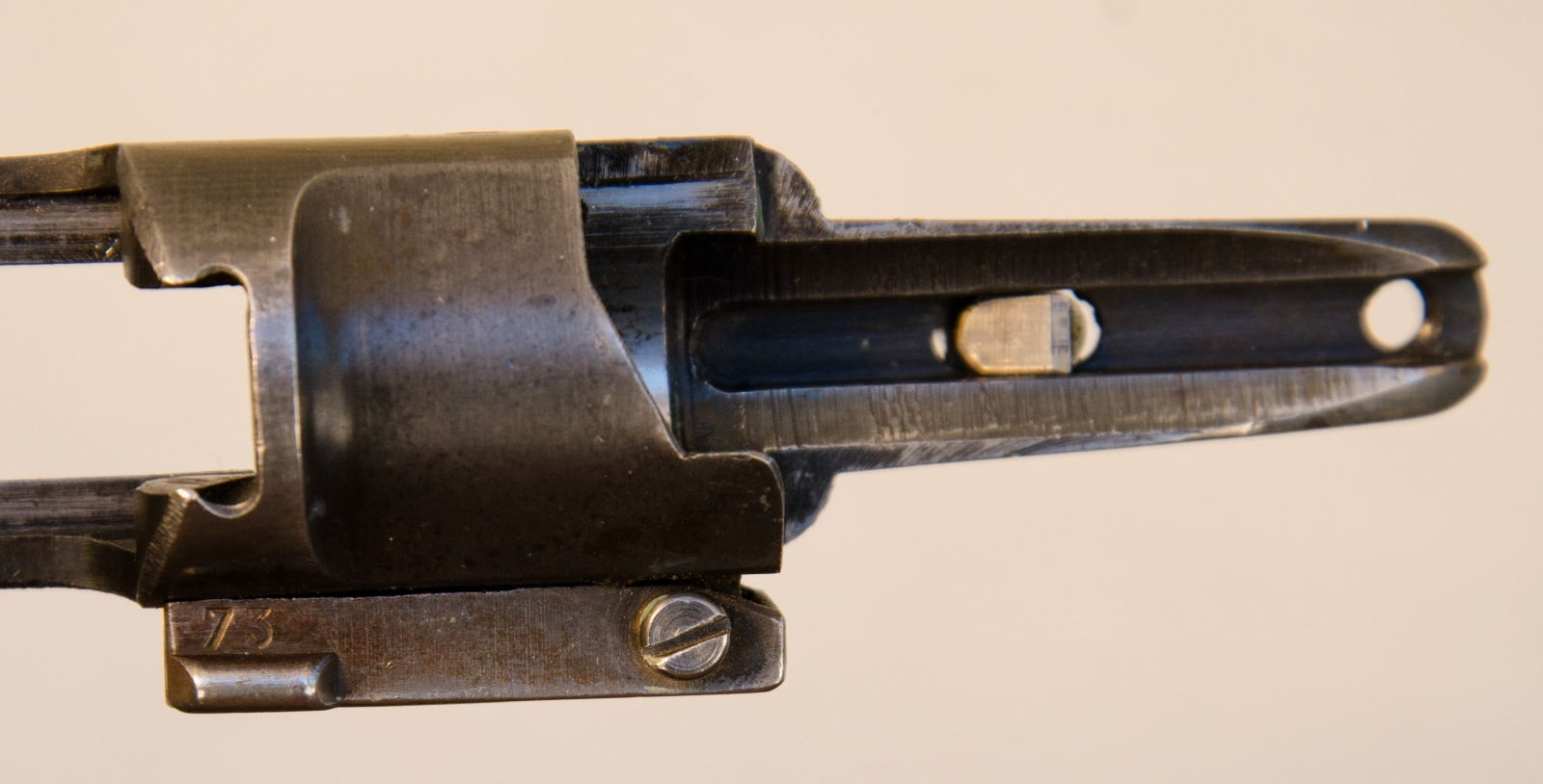 bolt release showing matching s/n