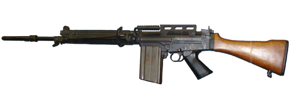 The Belgian FAL is the seventh most popular weapon in the world