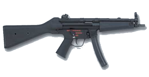 The Heckler & Koch MP5 has been the choice of most law enforcement and special operations agencies since its development in 1966 in West Germany and ranks eight on our list