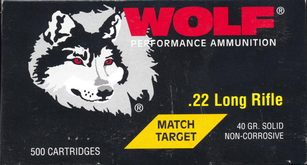 Wolf Match Grade .22LR made by SK/Lapua in Germany