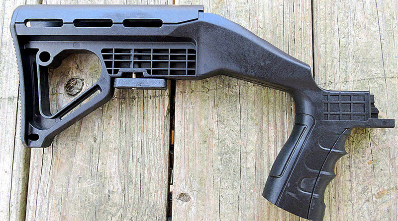 AR-15 Bumpfire stock for full auto legally