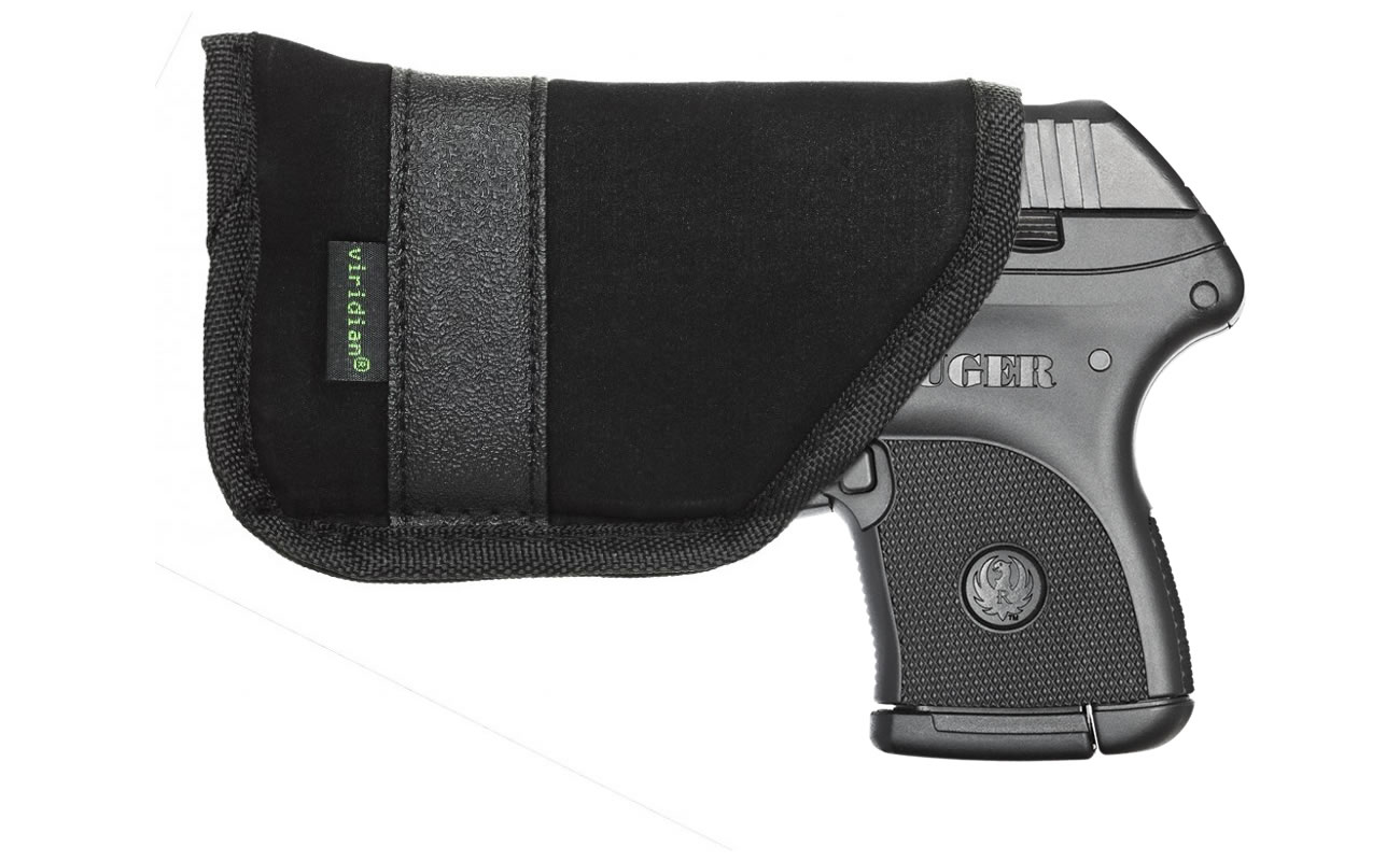 Ruger LCP  380 ACP With Viridian Green Laser and Pocket Holster NEW