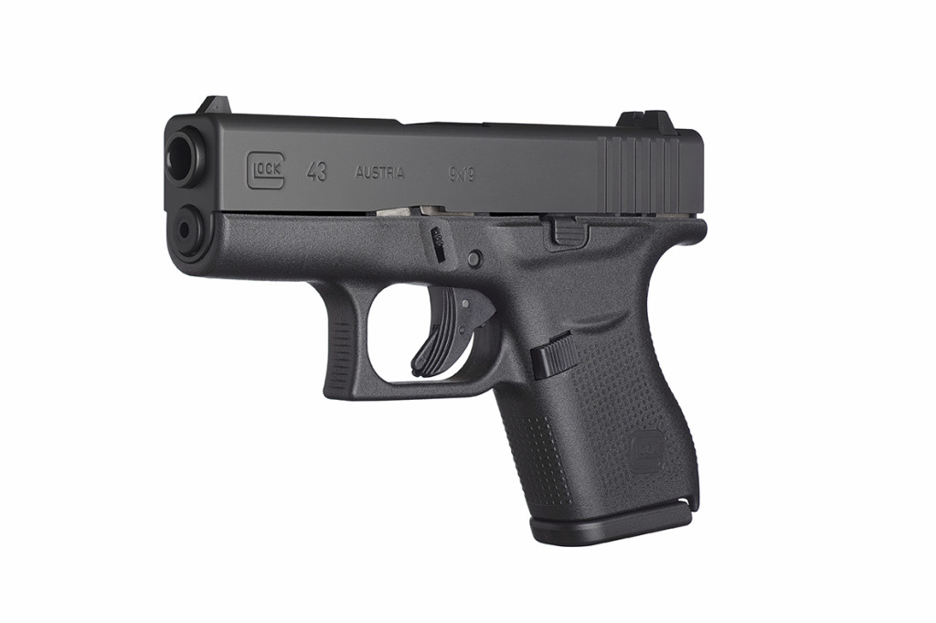 Glock 43 angled picture