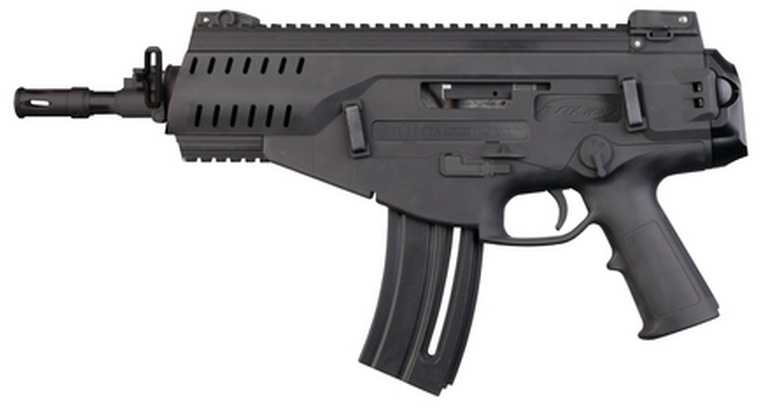 Beretta ARX160 .22LR Pistol with Picatinny rails, flip up sights, ambidextrous