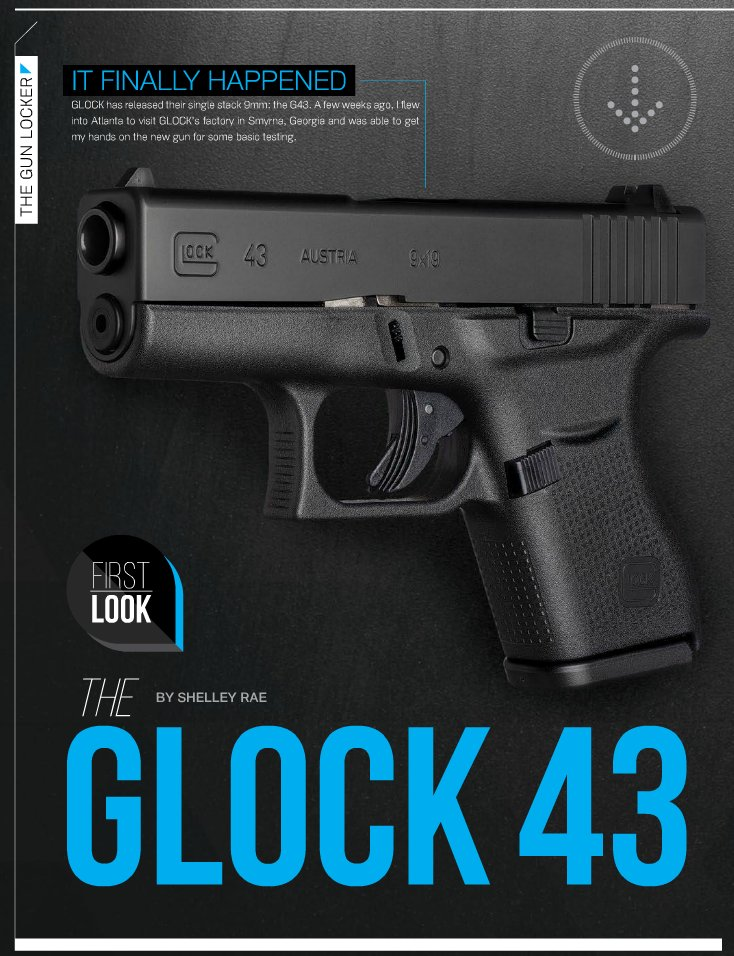 Glock 43 First Look