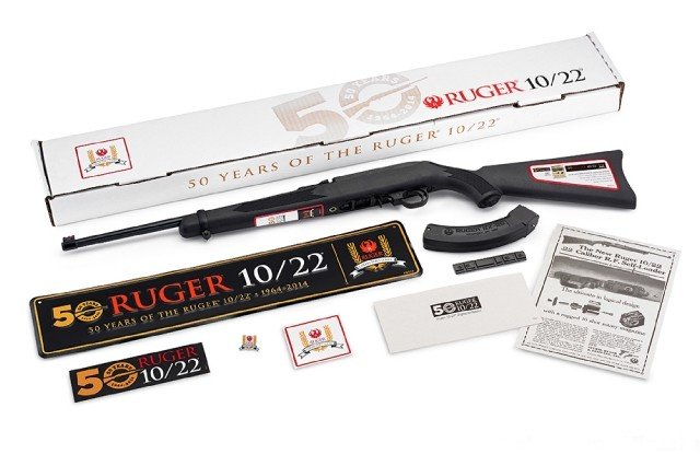 Ruger Rifle 10/22 .22LR 50th Anniversary Collectors Limited