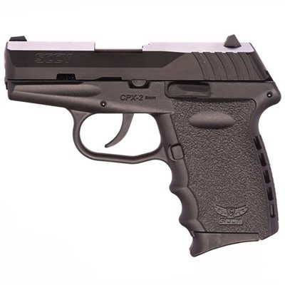 SCCY CPX-2 9mm 10+1 Round Semi-Automatic Pistol with Lifetime Guarantee