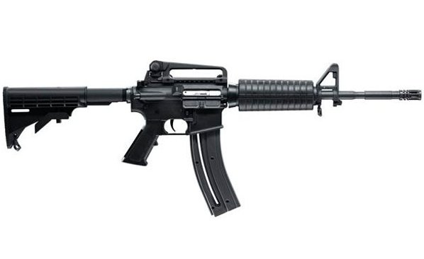 Colt AR-15 Style M4 Carbine .22LR W/Carry Handle, 30 Rnd Mag, and Threaded Barrel NEW