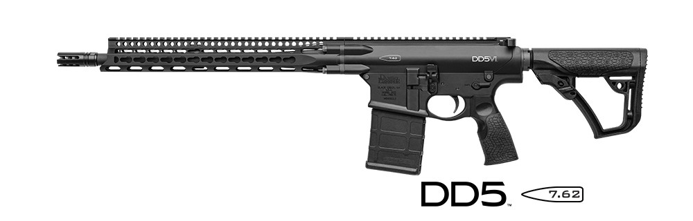 Daniel Defense DD5VI 7.62/.308 rifle
