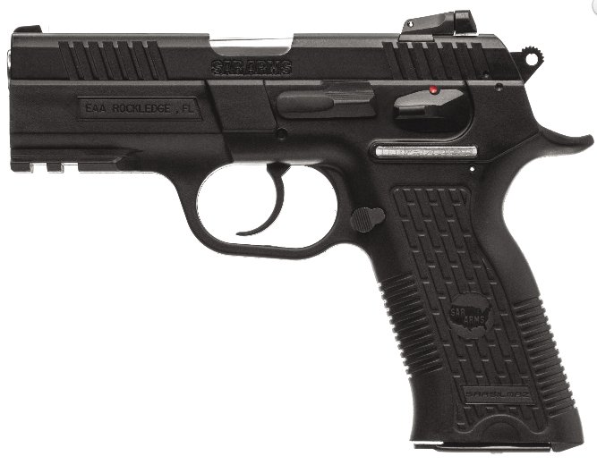 EAA SARARMS K2P CZ-75 Style 9mm Pistol