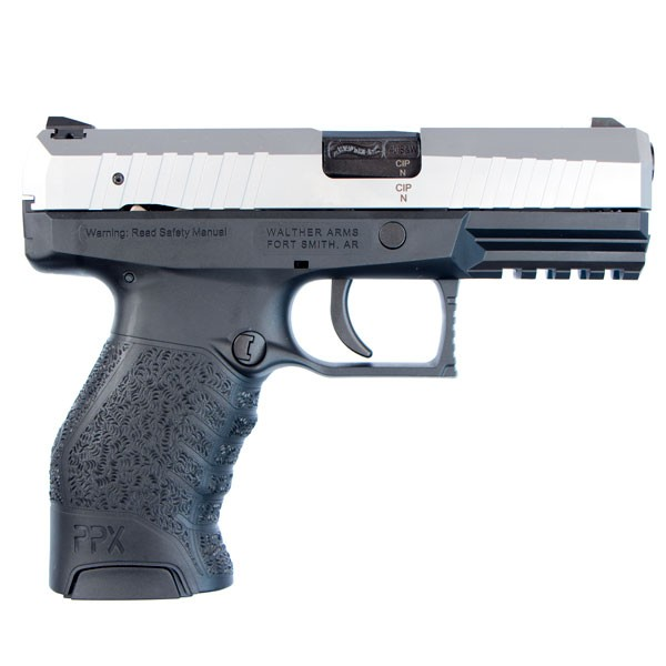 Walther PPX M1 Stainless Steel .40 S&W Pistol