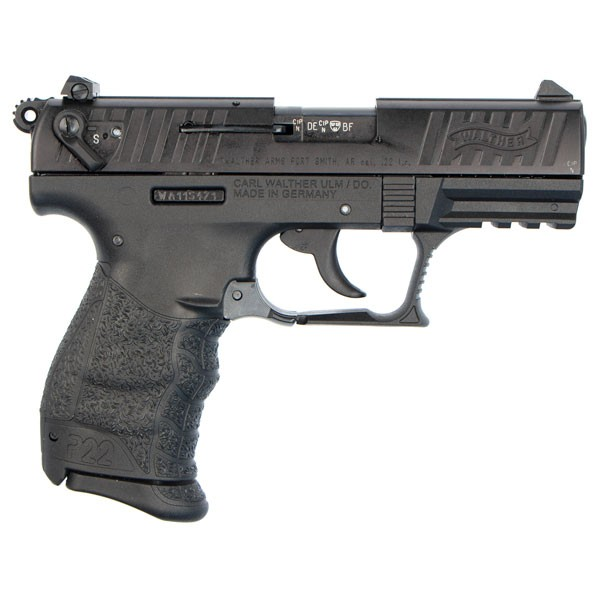 Walther P22 right side