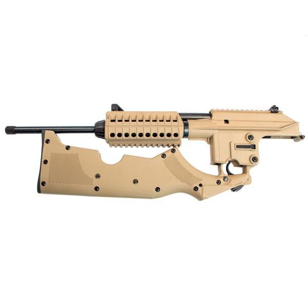 Kel-Tec SU-16C-CK-TAN 5.56 carbine folded