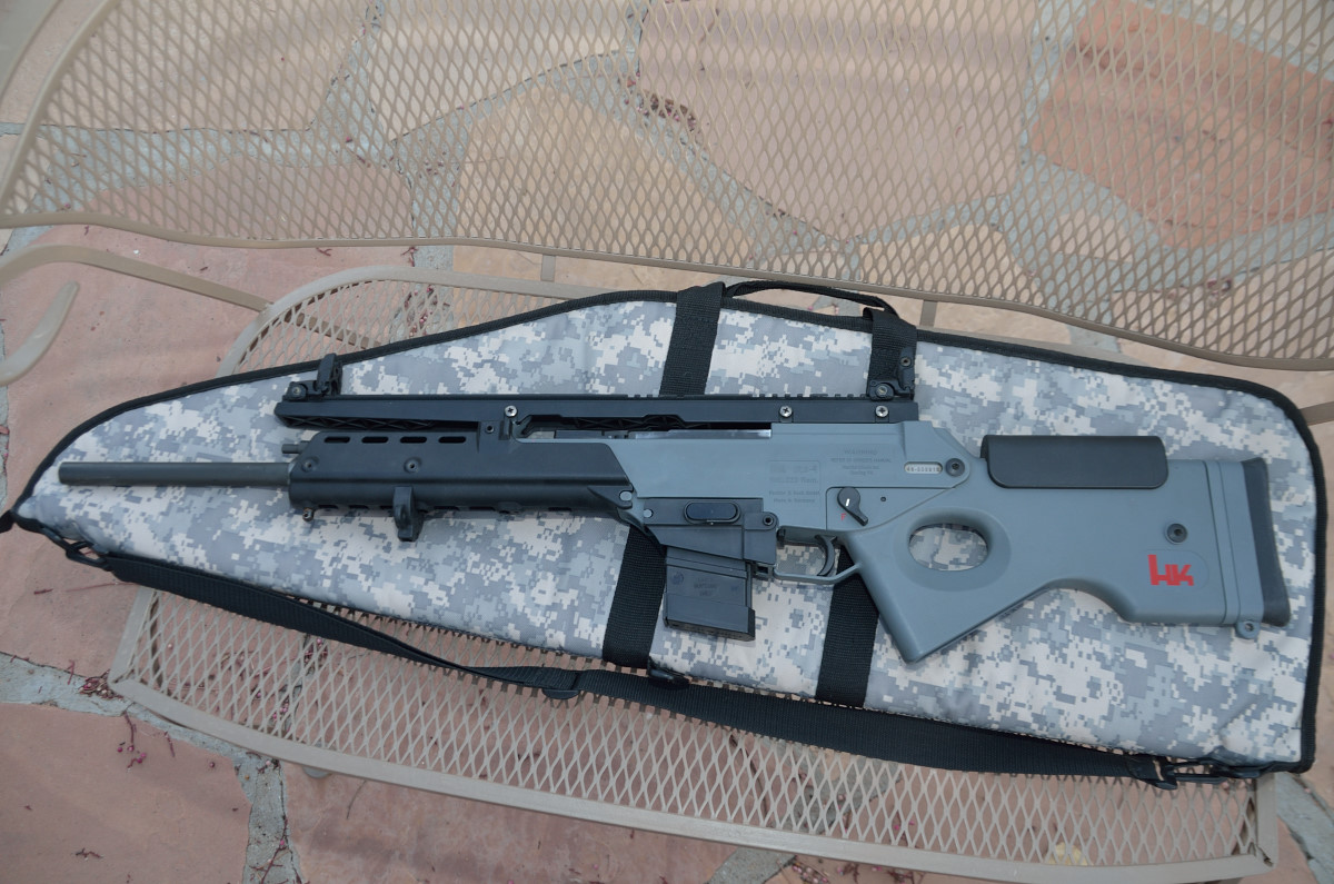 Heckler & Koch SL8-1/G36 5.56/223 Converted