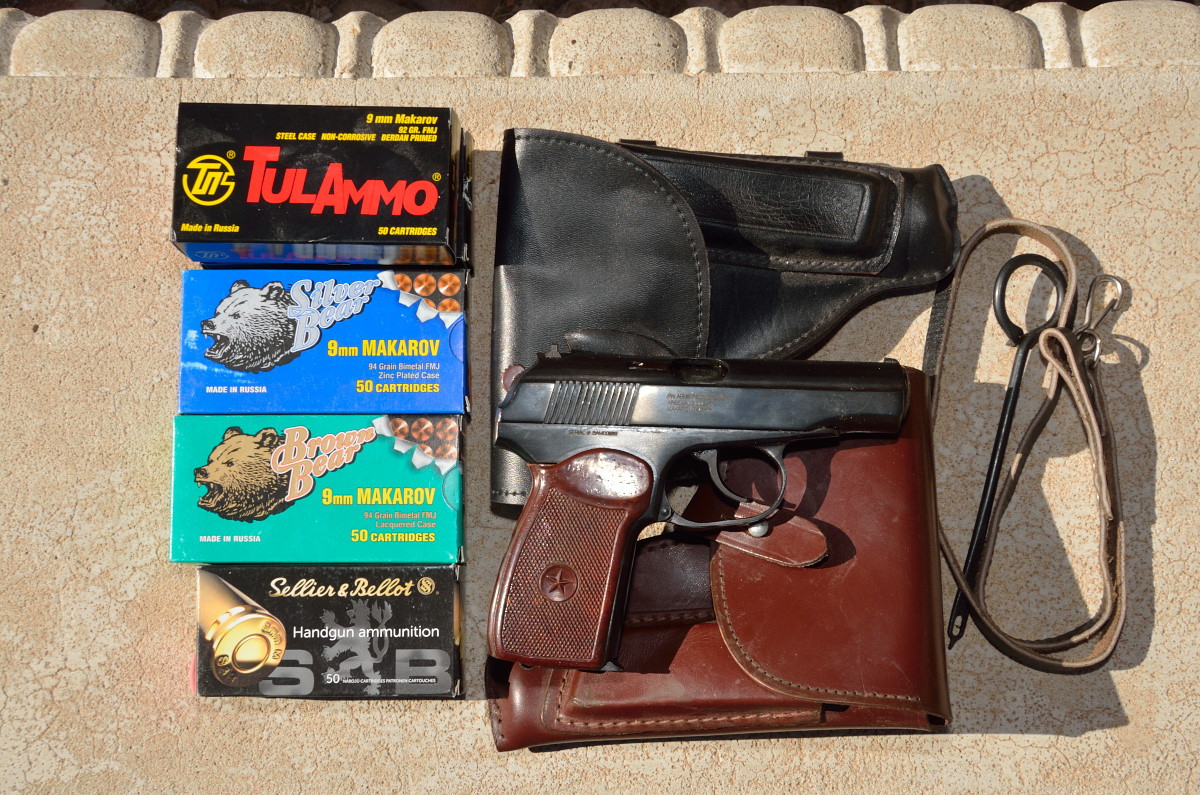 Bulgarian Military Makarov Pistol Exc Cond with accessories and ammo