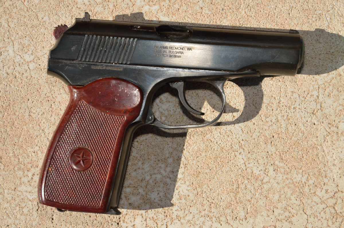 Bulgarian Military Makarov Pistol Exc Cond