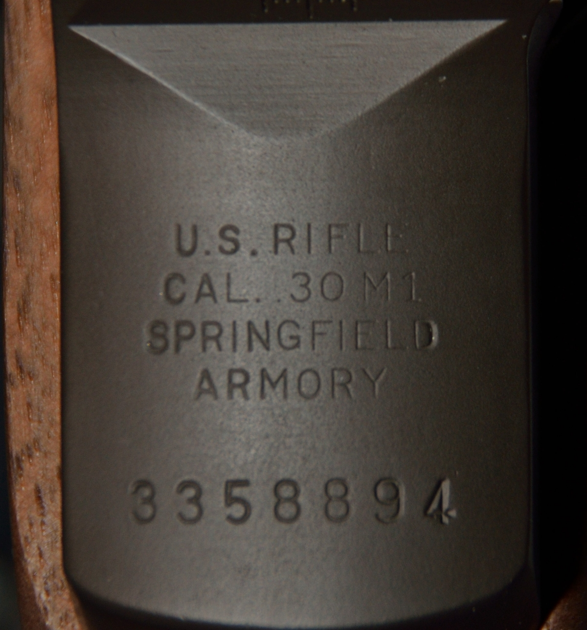 M1 Garand Springfield Armory Serial Number
