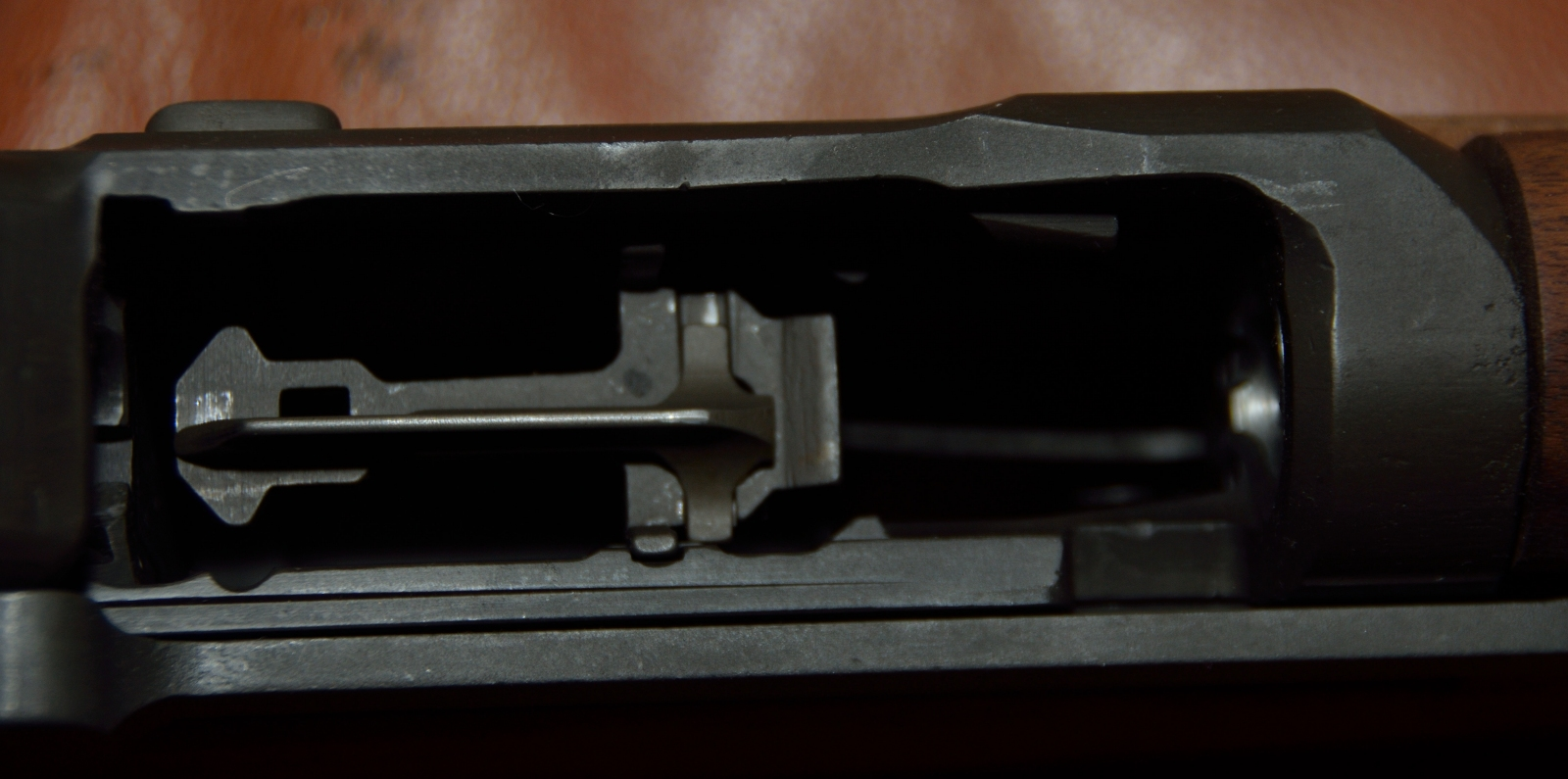 M1 Garand inside of magazine