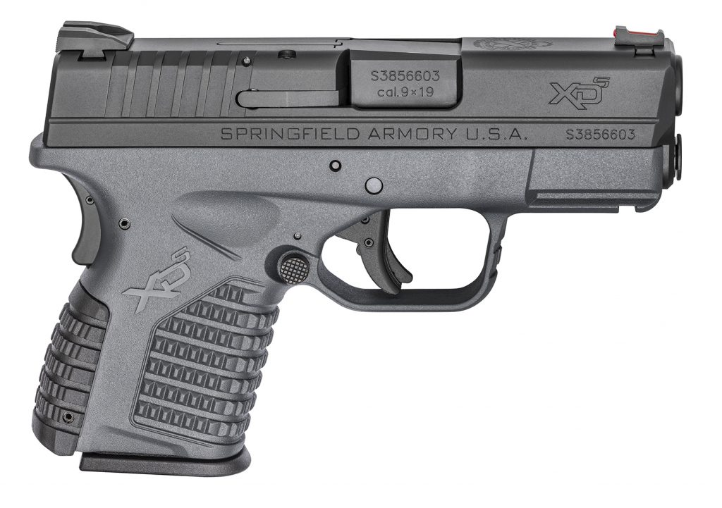 Springfield XDS 3.3 Single Stack 9mm Tactical Gray Essentials Package