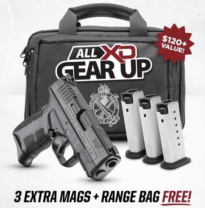 Springfield Promotion: All XD Gear Up Program