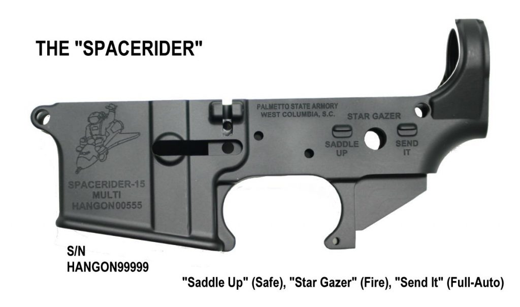 Spacerider AR-15 Lower Receiver