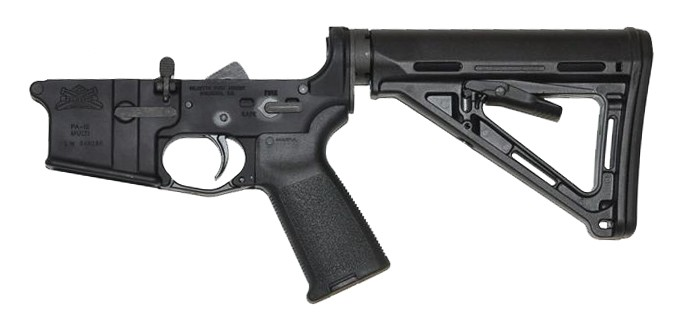 PSA AR-15 Complete Lower Magpul MOE Edition - Black