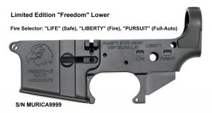 Freedomk AR-15 Lower Receiver