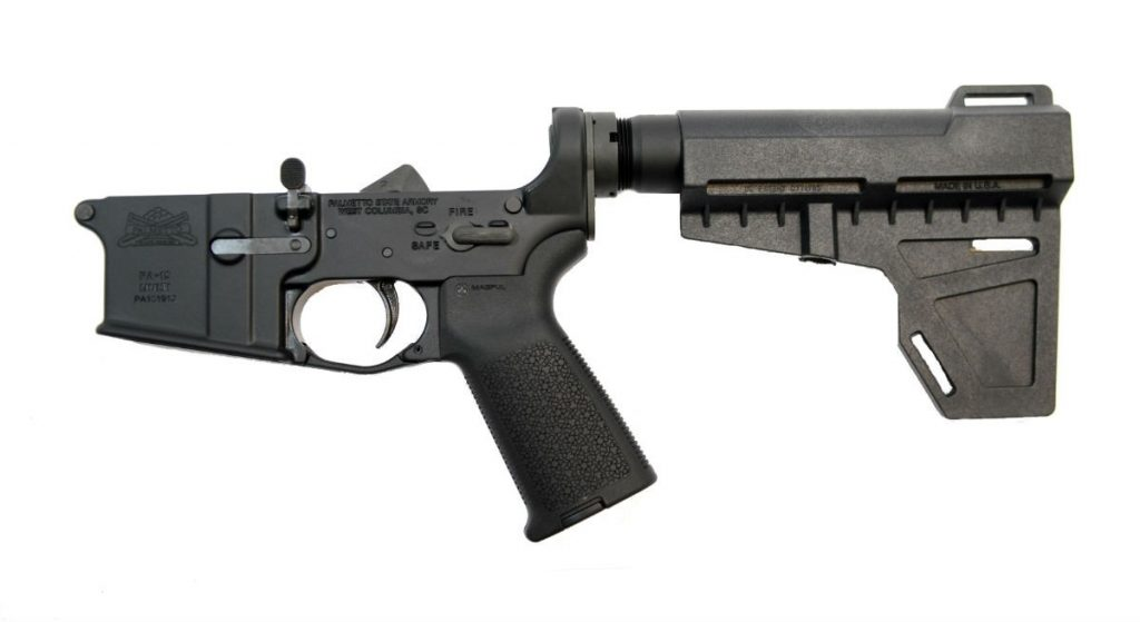 AR-15 MOE Shockwave Pistol Lower