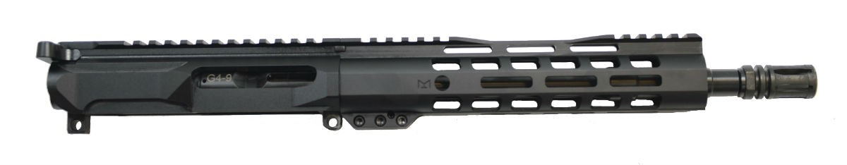 "PSA Gen4 10.5"" 9mm 1/10 Nitride 9"" Lightweight M-lok Railed Upper - With BCG & CH"