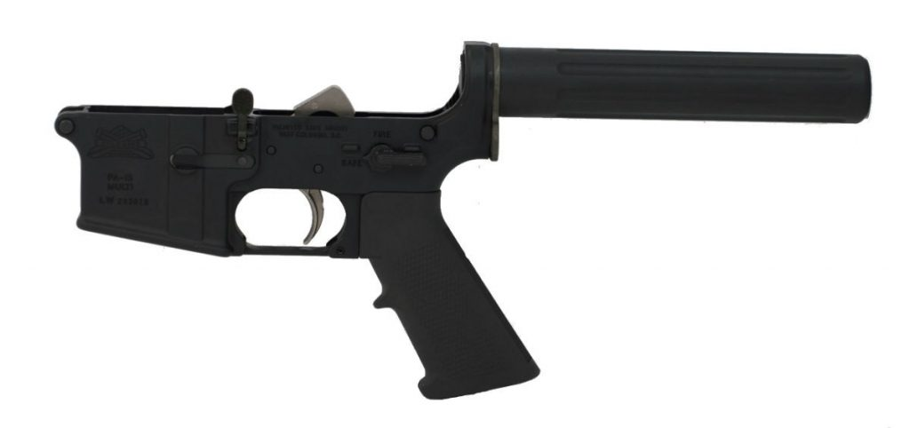 AR-15 COMPLETE CLASSIC EPT PISTOL LOWER