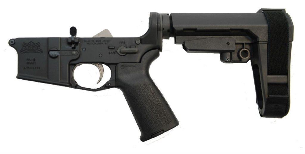 AR15 COMPLETE MOE EPT SBA3 LOWER