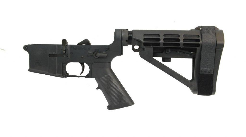 AR15 COMPLETE CLASSIC SBA4 LOWER