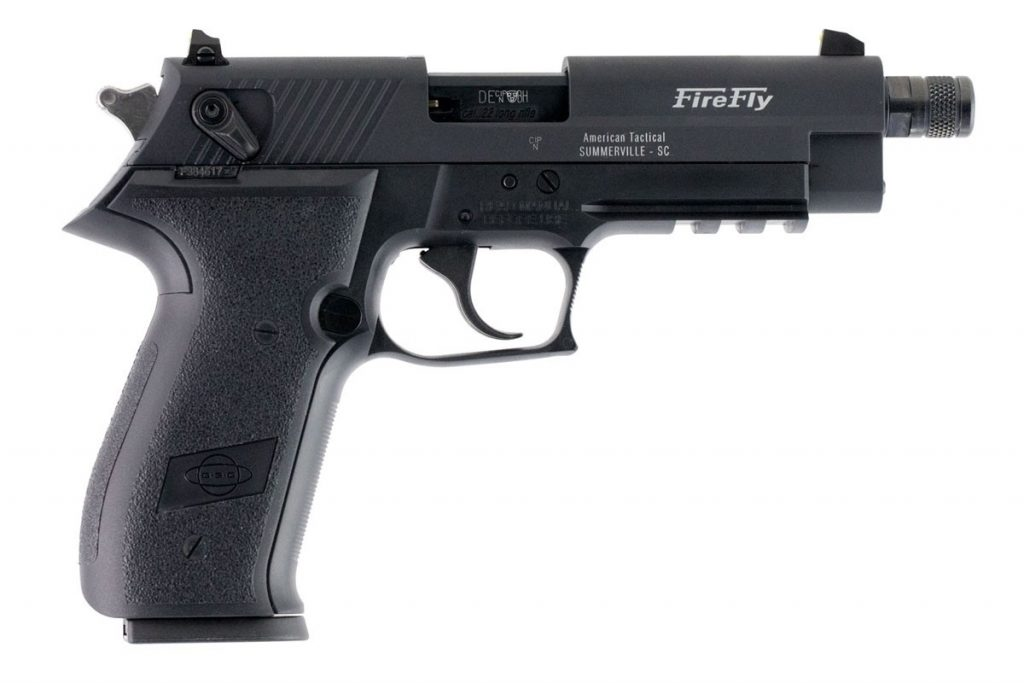 GSG Firefly with Threaded Barrel - Black