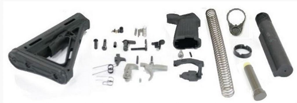 PSA AR-15 Magpul MOE Lower Build Kit With EPT Trigger
