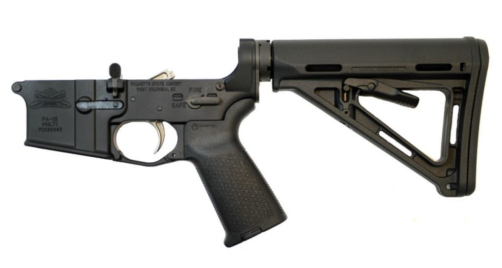 AR-15 MOE LOWER RECEIVER WITH TWO-STAGE NICKEL BORON TRIGGER