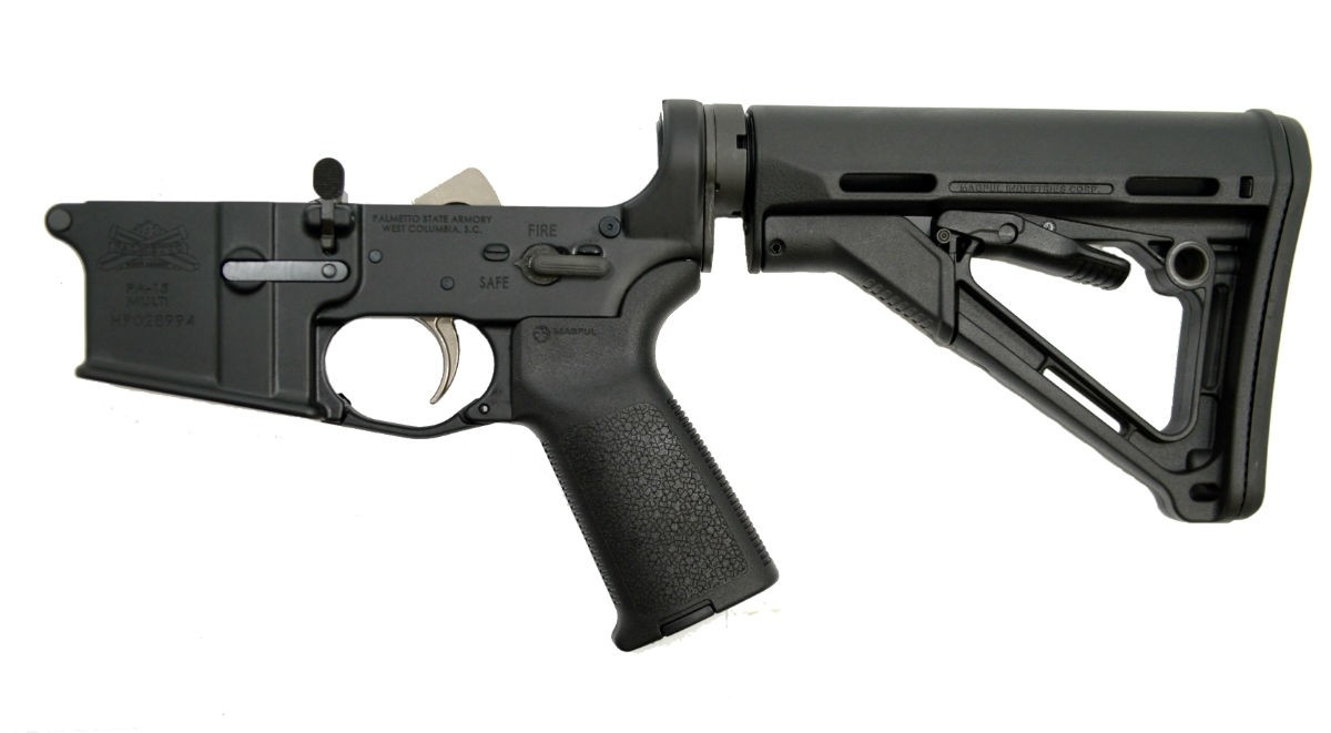 PSA AR-15 COMPLETE LOWER - EPT MAGPUL CTR EDITION - BLACK