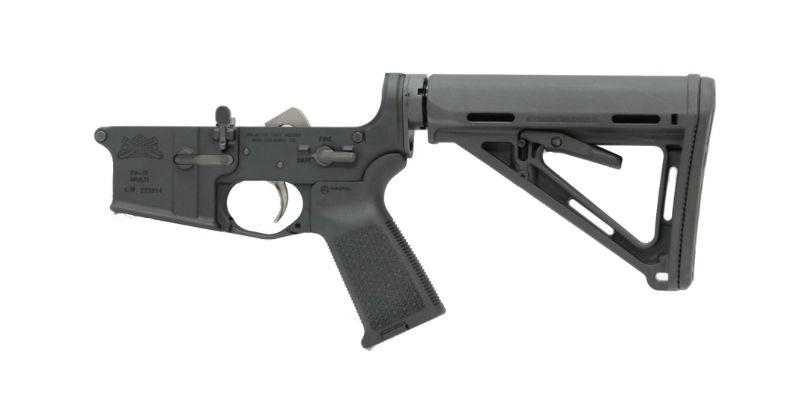AR-15 MOE EPT COMPLETE ASSEMBLED LOWER, BLACK
