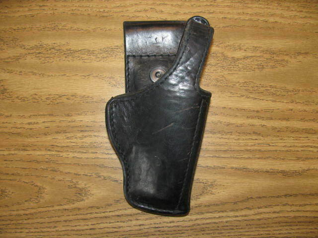 CZ-82 surplus military and police black leather holster