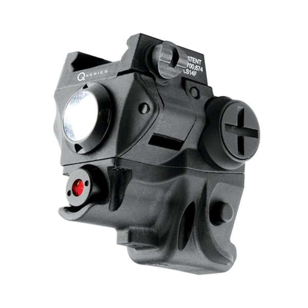 IPROTEC 60 LUMEN RAIL MOUNT LIGHT & RED LASER