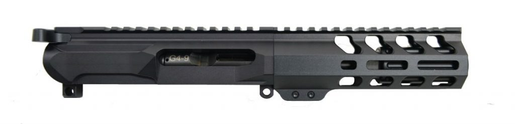 "AR-9 Gen4 4"" 9mm 6"" Lightweight M-Lok Railed Upper - With BCG & CH"