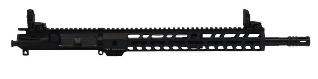 "16"" Mid-Length 5.56 NATO 1:7 Nitride 13.5"" Lightweight M-Lok Upper With BCG, CH, & MBUS SIght Set"