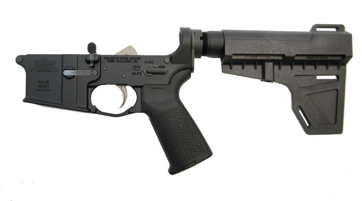PSA AR-15 COMPLETE MOE EPT SHOCKWAVE PISTOL LOWER