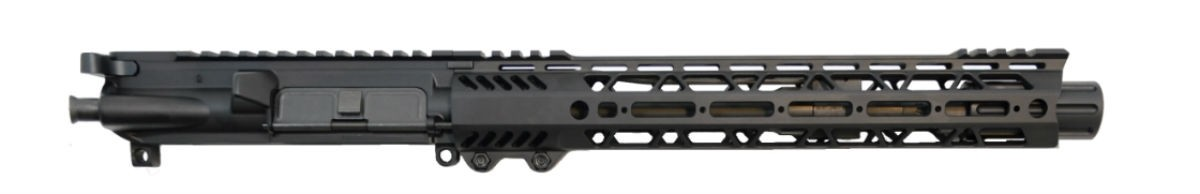 "10.5"" CARBINE-LENGTH 5.56 NATO 1/7 PHOSPHATE 12"" SLANT M-LOK UPPER - WITH BCG & CH"