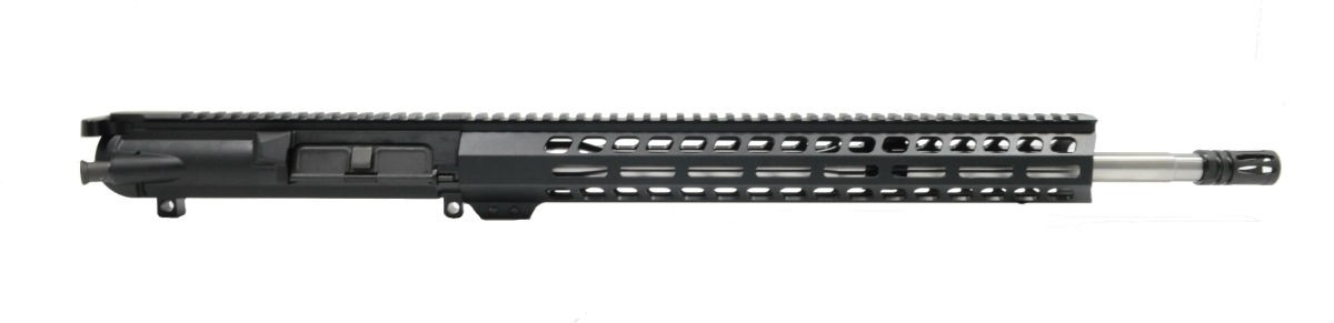 "Gen3 PA10 18"" Mid-Length .308 WIN 1:10 Stainless Steel 15"" M-lok Upper - With BCG & CH"