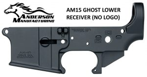 Anderson AM15 Ghost No Logo Lower Receiver