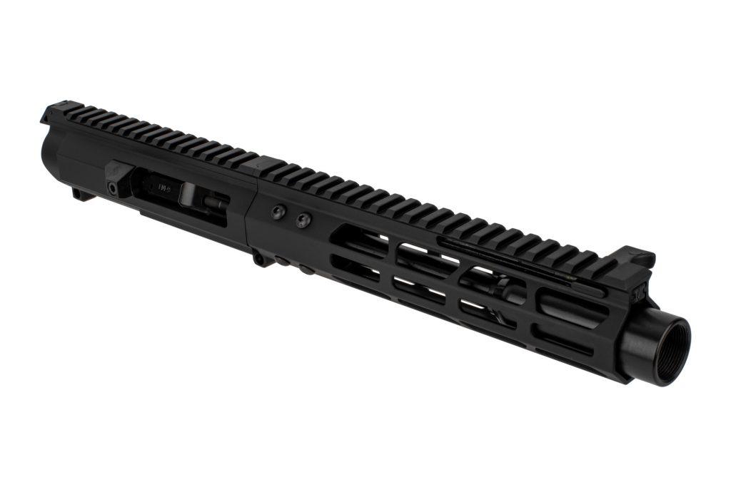 "Complete 9mm AR Upper 7"" Glock Style - 8.75"" M-LOK Rail - Blast Diffuser"