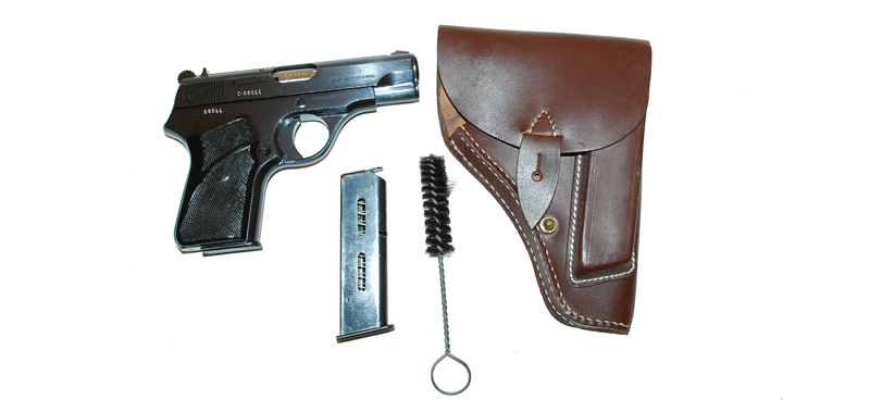 ZASTAVA M70 PISTOL 7.65 (32ACP) EXCELENT TO UN ISSUED NEW OLD STOCK WITH EXTRA MAGAZINE HOLSTER AND BRUSH