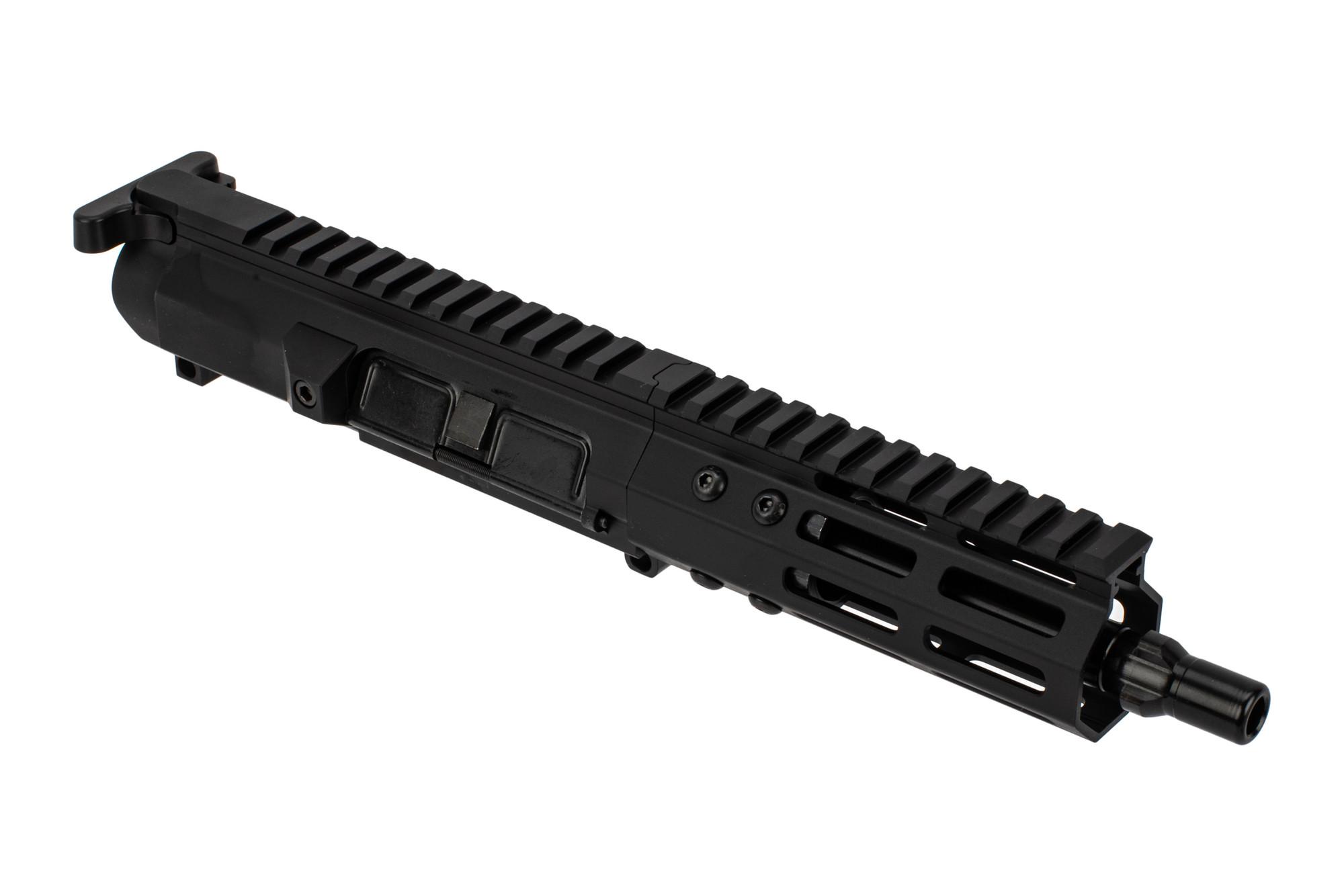 "Foxtrot Mike 7"" Glock Style Ultra Light 9mm Tri-Lug Complete Upper - 5"" M-LOK Rail"