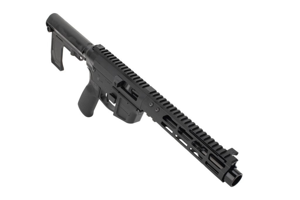 Foxtrot Mike Glock Style Ultralight 9mm AR Pistol Side Charging 7 inch NEW